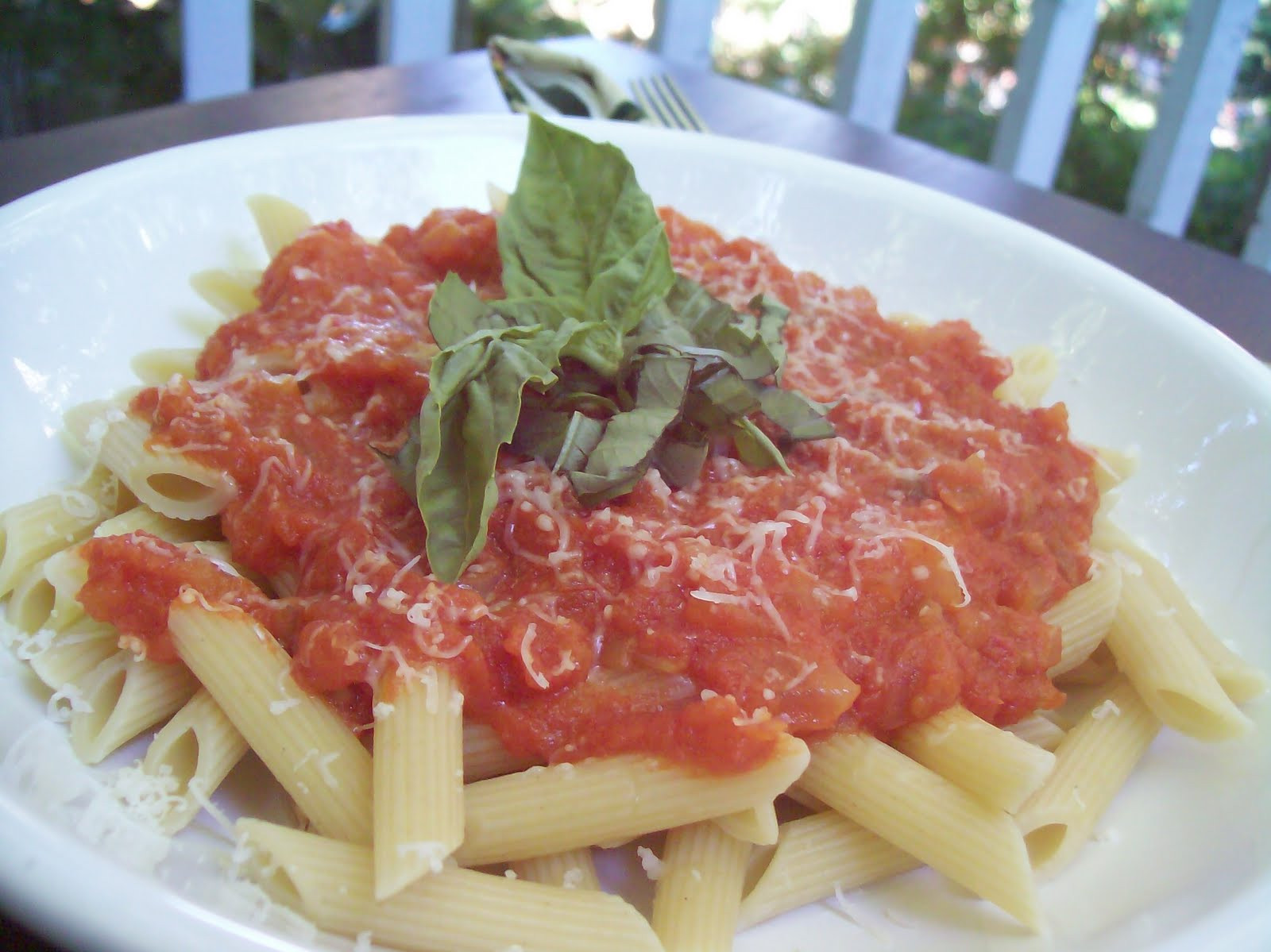 Roma Tomato Sauce  The Learning Curve Pasta with Fresh Roma Tomato Sauce