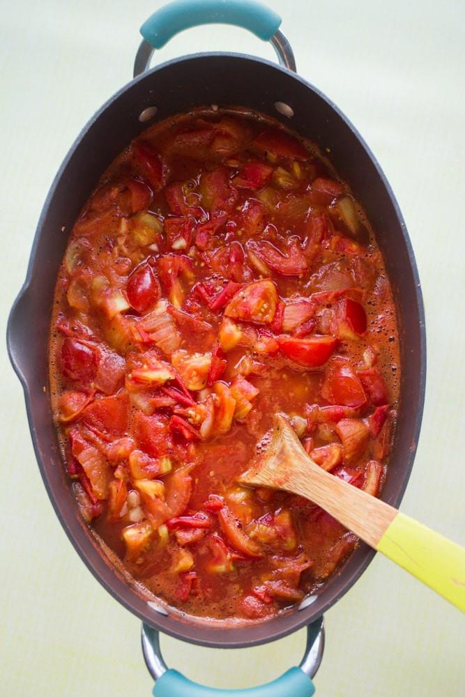 Roma Tomato Sauce  Roma Tomato Sauce Recipe Easy Made With Fresh Tomatoes