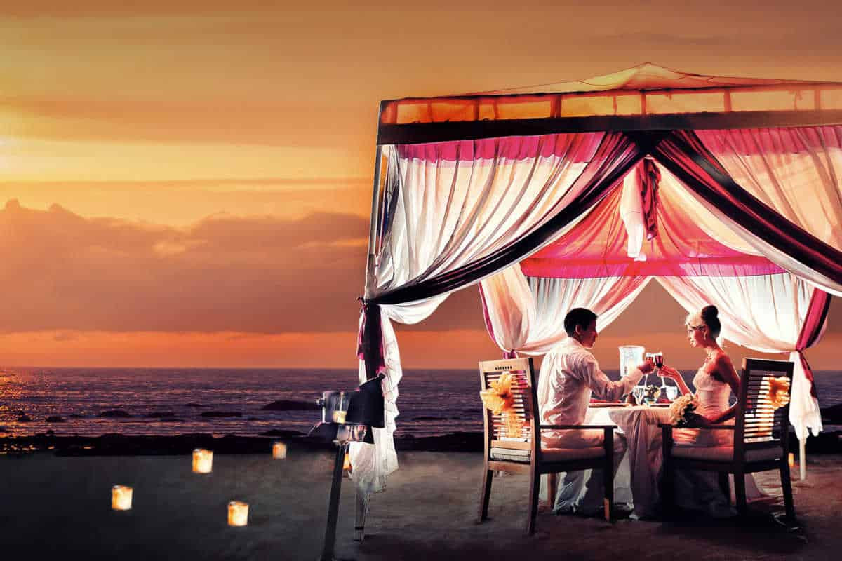 Romantic Dinner For Two  20 Best Romantic Dinners in Bali Just the Two of You