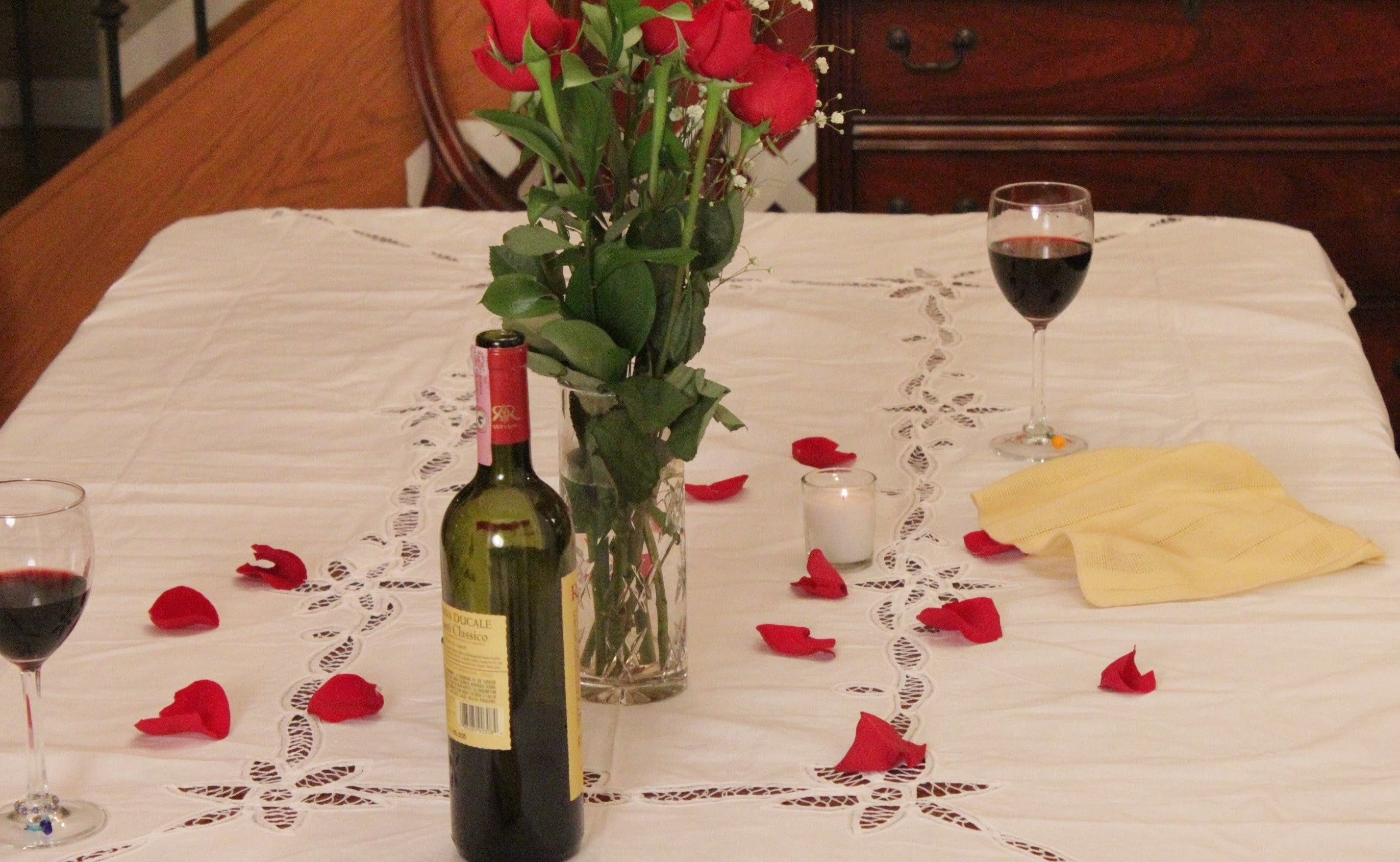 Romantic Dinner For Two At Home  Romantic Dinner Ideas For Two At HomeWritings and Papers