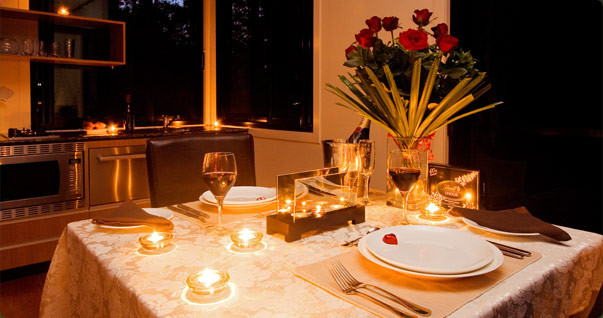 Romantic Dinner For Two At Home  Romantic dinner table 8 House Design Ideas