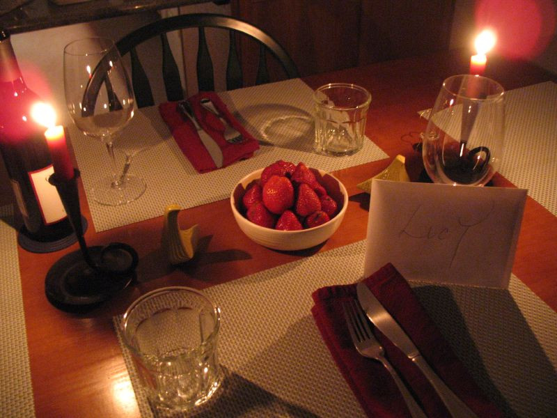 Romantic Dinner For Two At Home  Birthday Ideas Romantic Birthday Ideas