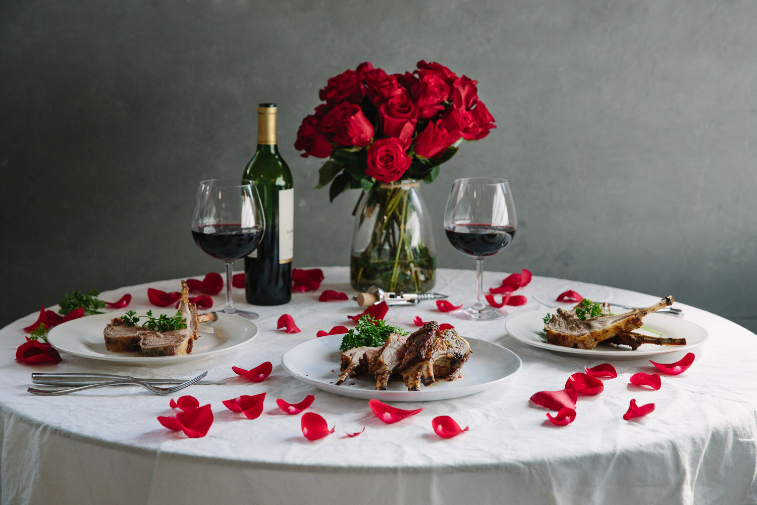 Romantic Dinner For Two  A Valentine s Dinner for Two
