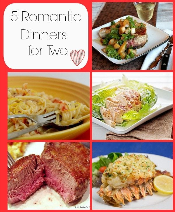Romantic Dinners Recipes For Two  Stuff I ve Gotta and You ve Gotta See