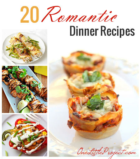 Romantic Dinners Recipes For Two  20 Romantic Dinner Recipes