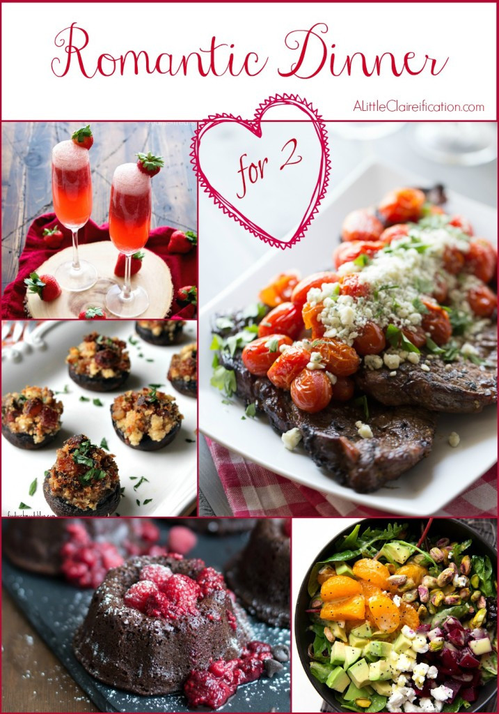Romantic Dinners Recipes For Two  A Romantic Dinner For Two