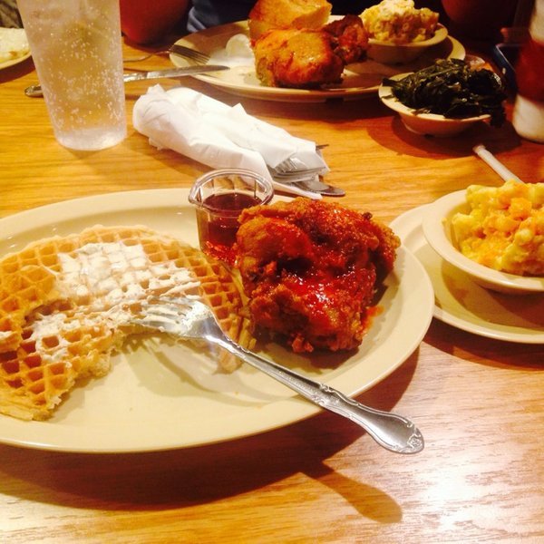 Roscoe'S Chicken And Waffles Anaheim  Roscoe s House of Chicken n Waffles Fried Chicken