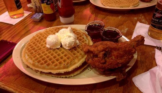 Roscoe'S Chicken And Waffles Anaheim  Chicken & Waffle Picture of Roscoe s House of Chicken