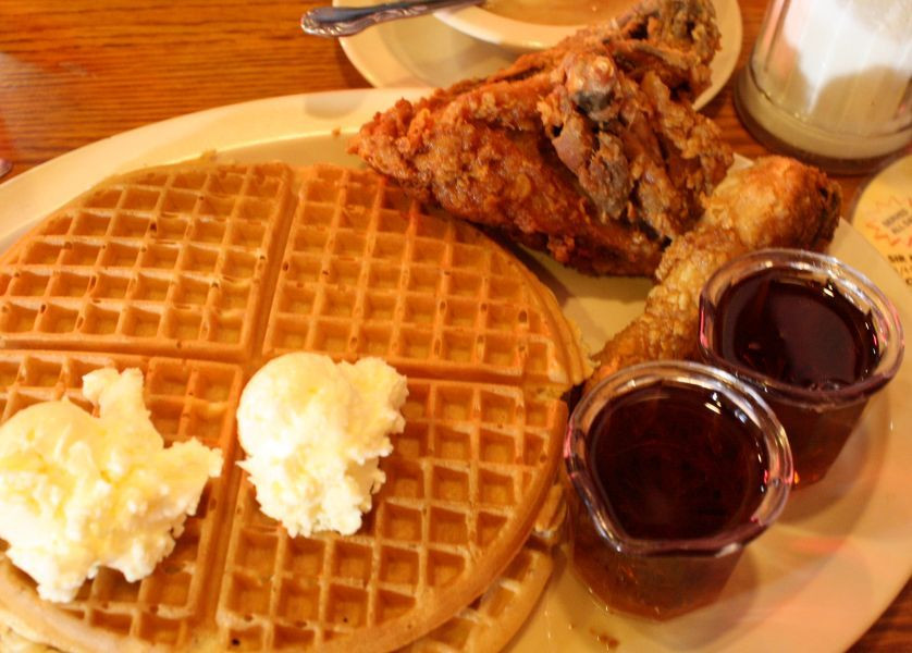 Roscoe'S Chicken And Waffles Anaheim  Roscoe s House Chicken And Waffles Files For Bankruptcy