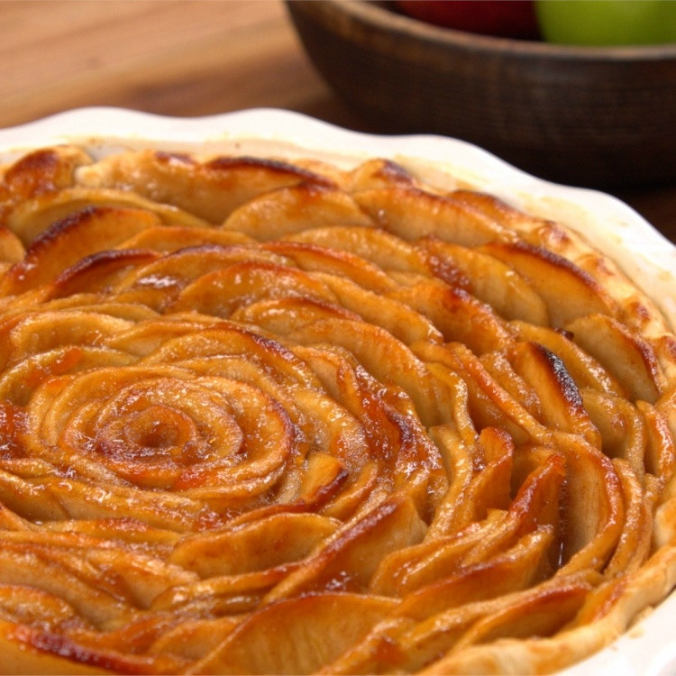 Rose Apple Pie  Apple Rose Pie Recipe & Video