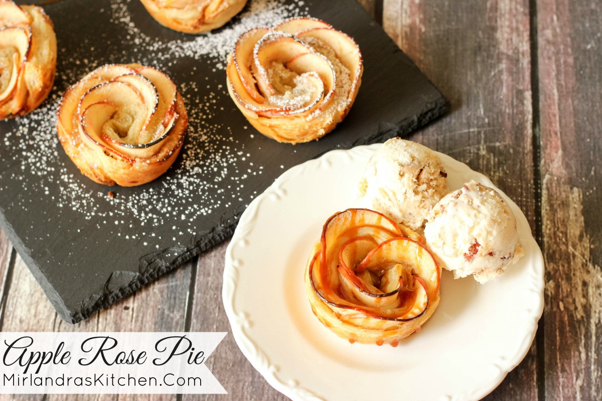 Rose Apple Pie  Apple Rose Pie Mirlandra s Kitchen