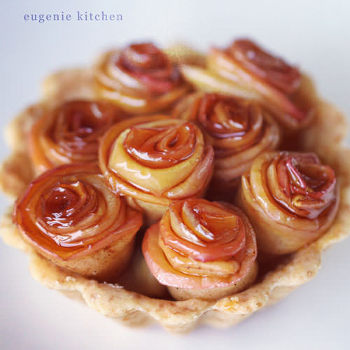 Rose Apple Pie  Rose Apple Pie Recipe Eugenie Kitchen