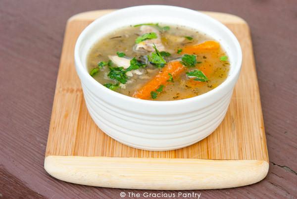 Rotisserie Chicken Soup  Leftover Rotisserie Chicken Soup Recipe