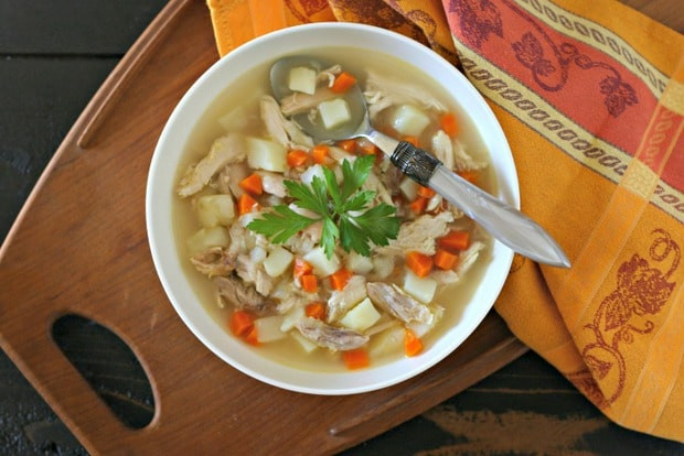 Rotisserie Chicken Soup  Rotisserie Chicken Soup