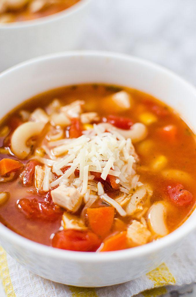 Rotisserie Chicken Soup  Easy Rotisserie Chicken Soup Recipe Busy Being Jennifer