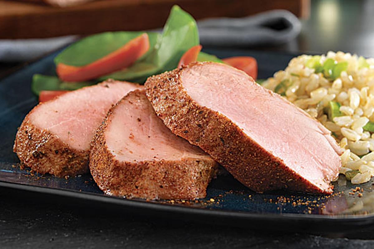 Rub For Pork Tenderloin  Roast Pork Tenderloin with Asian Dry Rub Recipe