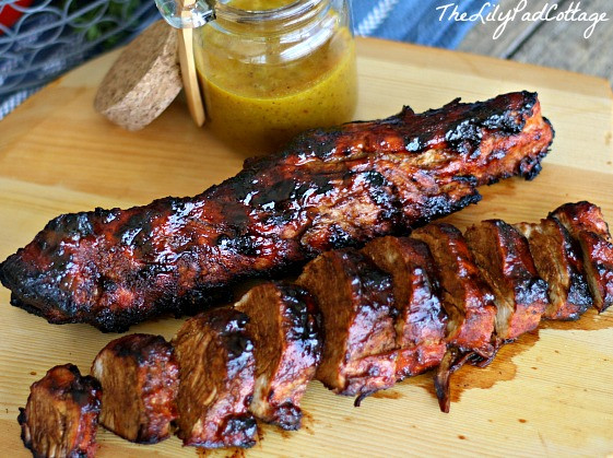 Rub For Pork Tenderloin  Sweet and Spicy Pork Tenderloin and a Huge Giveaway The
