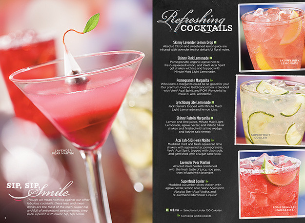 Ruby Tuesday Dessert Menu  Drinks and Desserts but mostly Drinks A Food