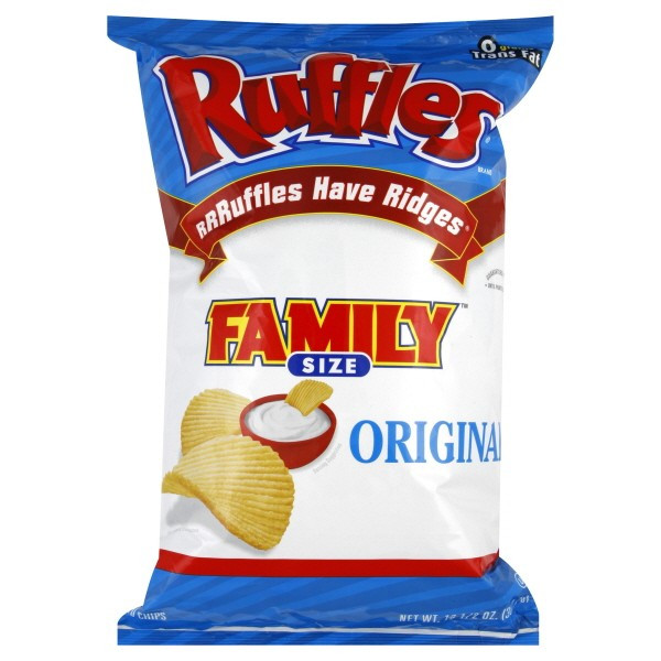 Ruffles Potato Chips  Ruffles Potato Chips Original Family Size