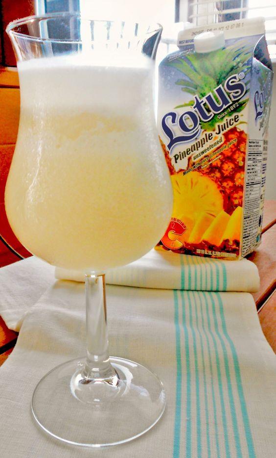 Rum Based Drinks  Piña Colada Puerto Rican rum based drink TravelWithTrip