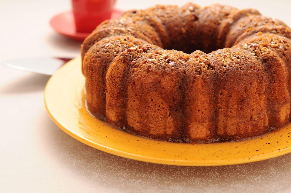 Rum Bundt Cake  Caribbean Bacardi Rum soaked Cake Recipe