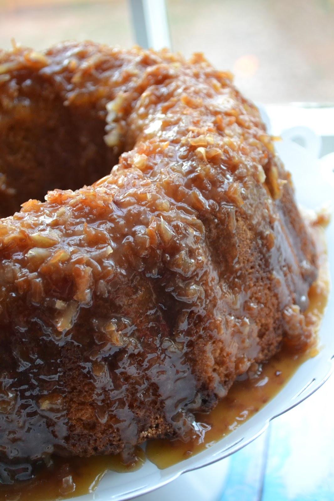 Rum Bundt Cake  BundtBakers Pina Colada Rum Bundt Cake