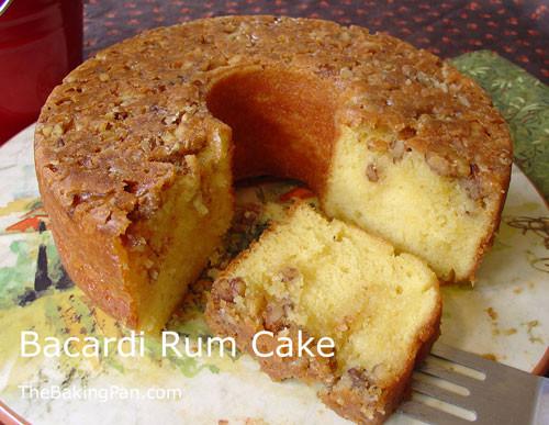 Rum Cake Recipe  Bacardi Rum Cake Recipe