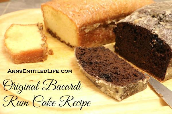 Rum Cake Recipe  Original Bacardi Rum Cake Recipe