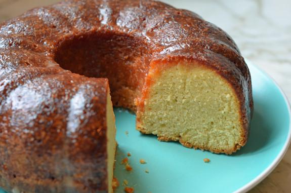 Rum Cake Recipe  Rum Cake ce Upon a Chef