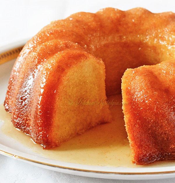 Rum Cake Recipes  Rum Cake from Scratch