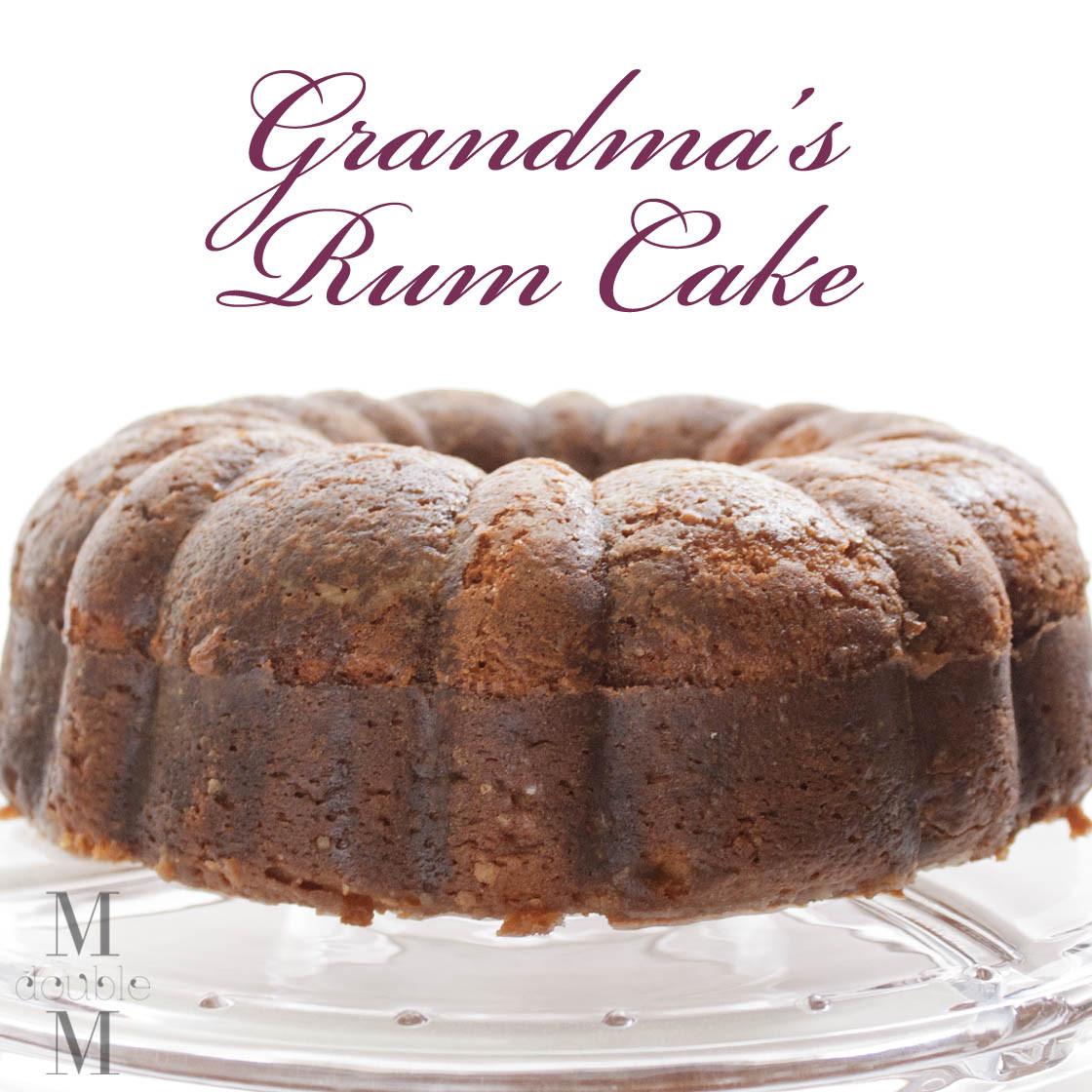 Rum Cake Recipes  M double M Grandma s rum cake recipe