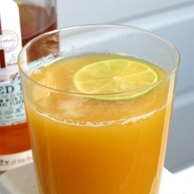 Rum Drinks Simple  Easy Pineapple Rum Cocktail Recipe