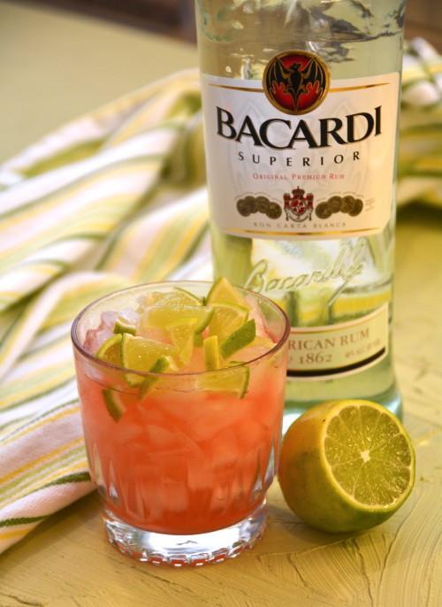 Rum Drinks Simple  Easy Bacardi Cocktail Rum DrinkWire