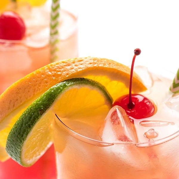 Rum Drinks Simple  easy rum punch recipe