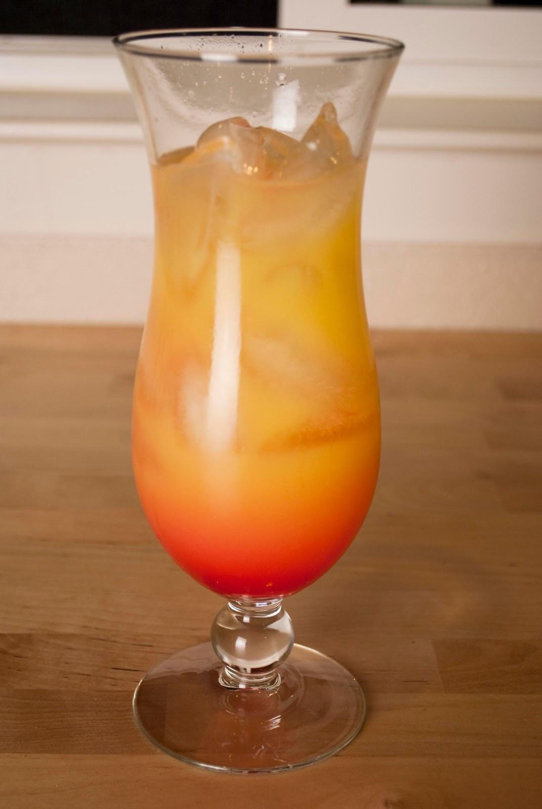Rum Drinks With Orange Juice  Malibu Sunrise A Year of Cocktails