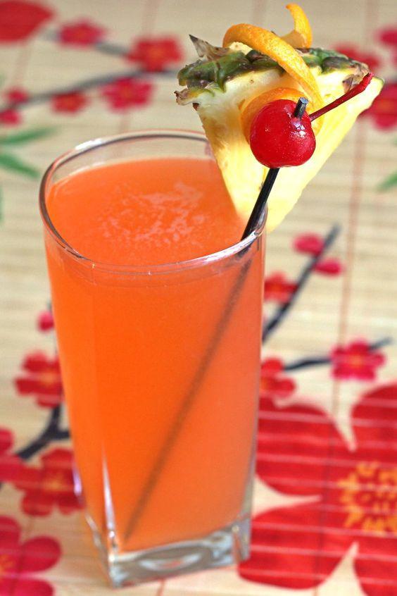 Rum Drinks With Orange Juice  Fruit juice Coconut rum and Grenadines on Pinterest