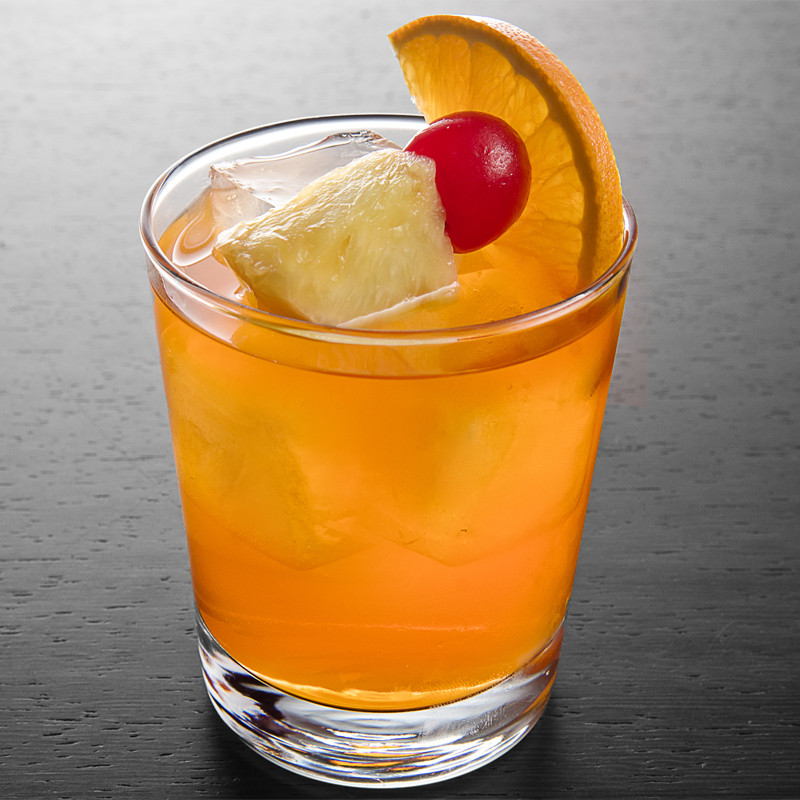Rum Drinks With Orange Juice  Bermuda Rum Swizzle Cocktail Recipe