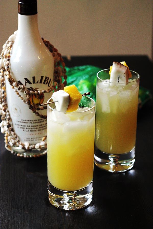 Rum Drinks With Pineapple Juice  Coconut Pineapple Rum Drinks