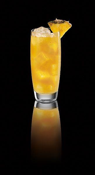 Rum Drinks With Pineapple Juice  Pineapple Juice & Soda with Captain Morgan White Rum