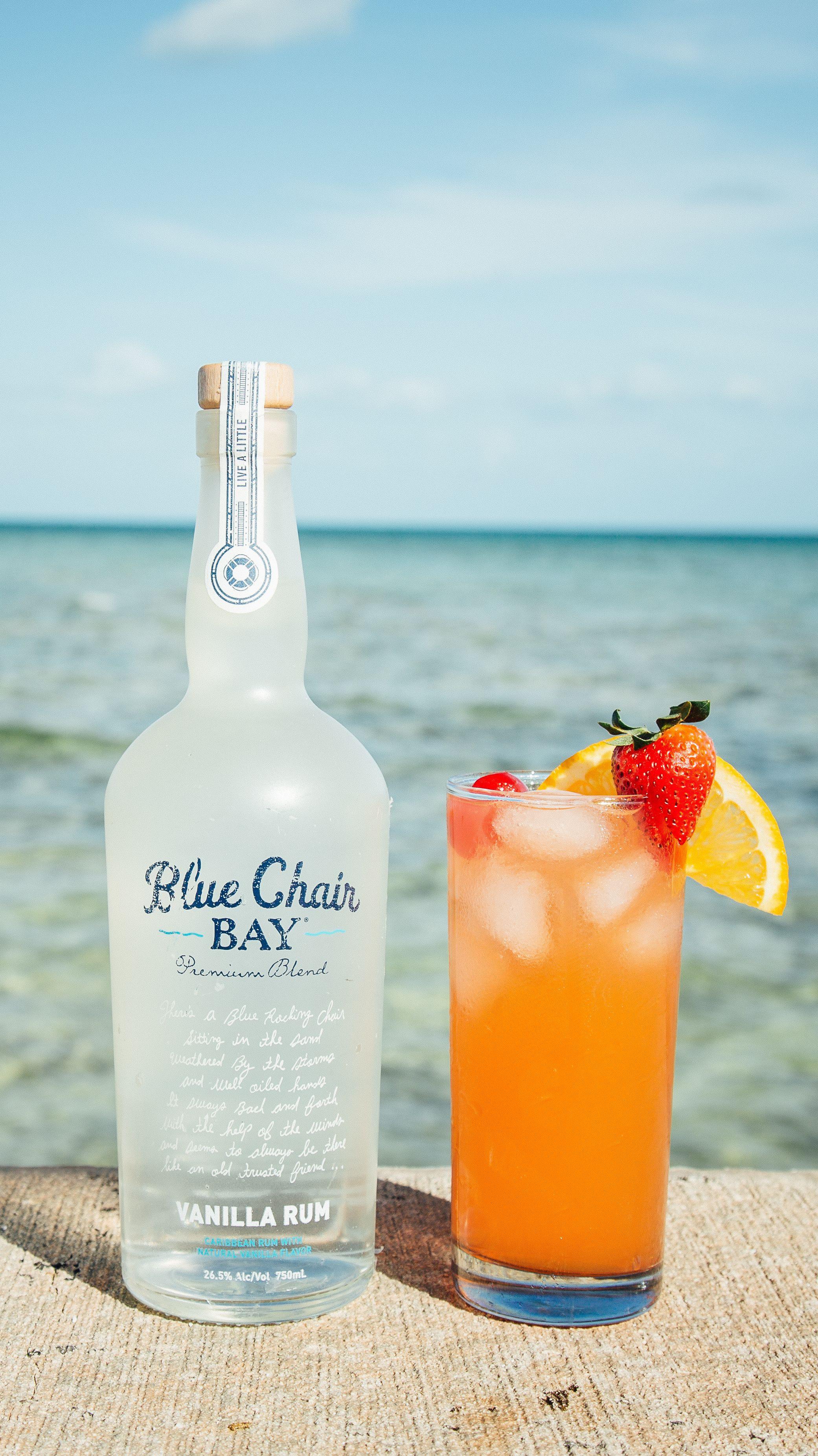Rum Drinks With Pineapple Juice  BEACH CHAIR COCKTAIL 2 oz Blue Chair Bay Vanilla Rum