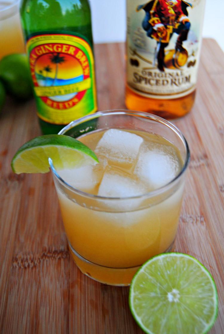 Rum Drinks With Pineapple Juice  SteakNPotatoesKindaGurl Ginger Pineapple Rum Punch