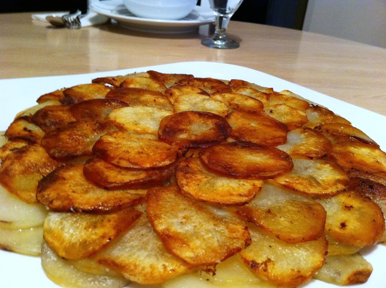 Russet Potato Recipes  Pommes Anna Andicakes