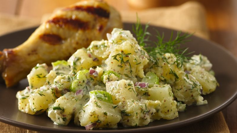 Russet Potato Recipes  Russet Potato Salad Recipe BettyCrocker