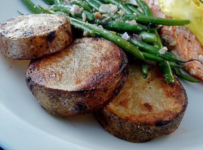 Russet Potato Recipes  Recipe Grilled russet potatoes