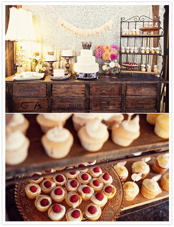 Rustic Dessert Table  Serendipity Soiree Freebie Rustic Mr & Mrs Wedding