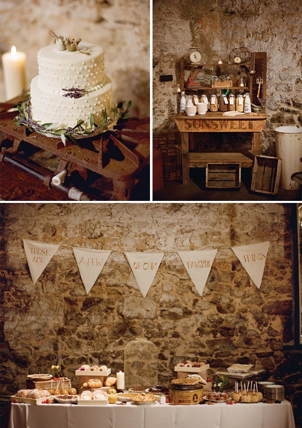 Rustic Dessert Table  Delicious and Imaginative Dessert Tables Chic Vintage