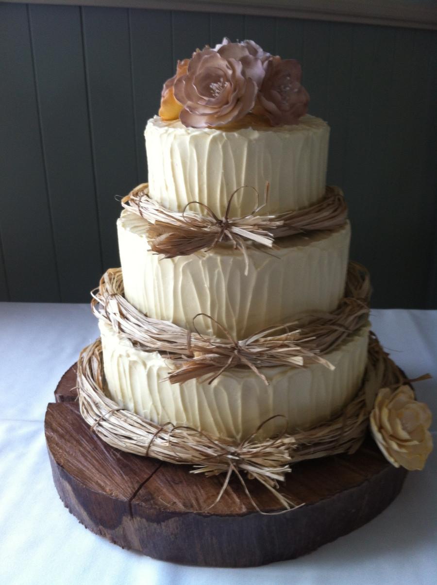 Rustic Wedding Cakes  Rustic Wedding Cake Designs Wedding and Bridal Inspiration