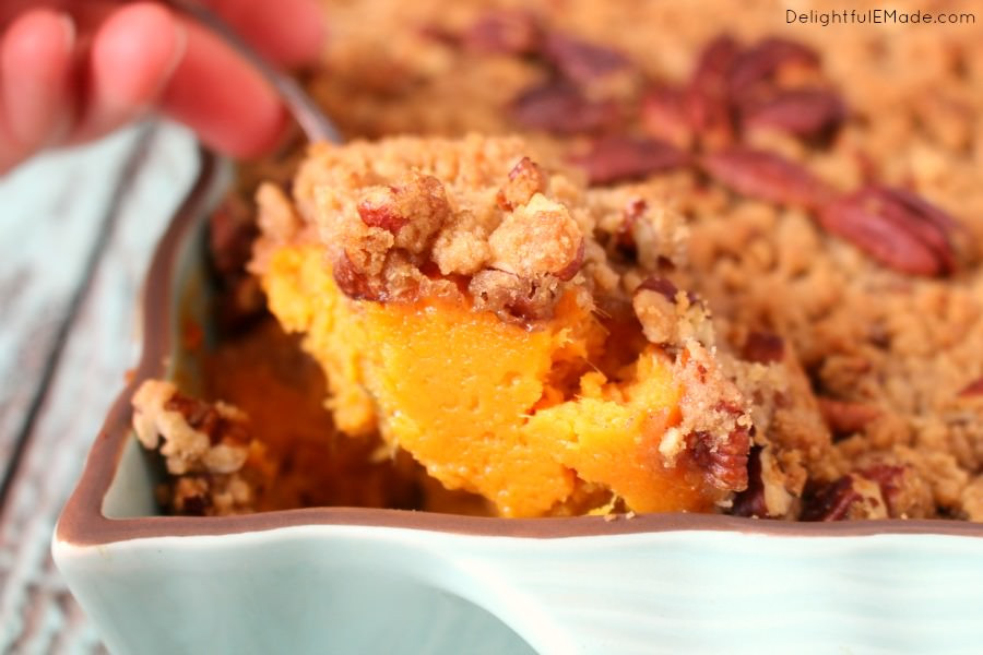Ruth Chris Sweet Potato Casserole  Ruth s Chris Copycat Sweet Potato Casserole Delightful E