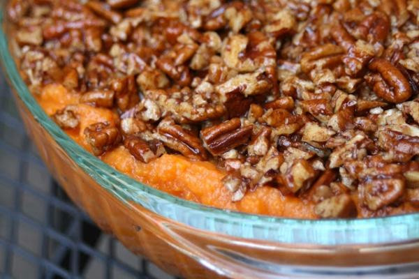 Ruth Chris Sweet Potato Casserole  Home for the Holidays Restaurant Inspired Staycation New