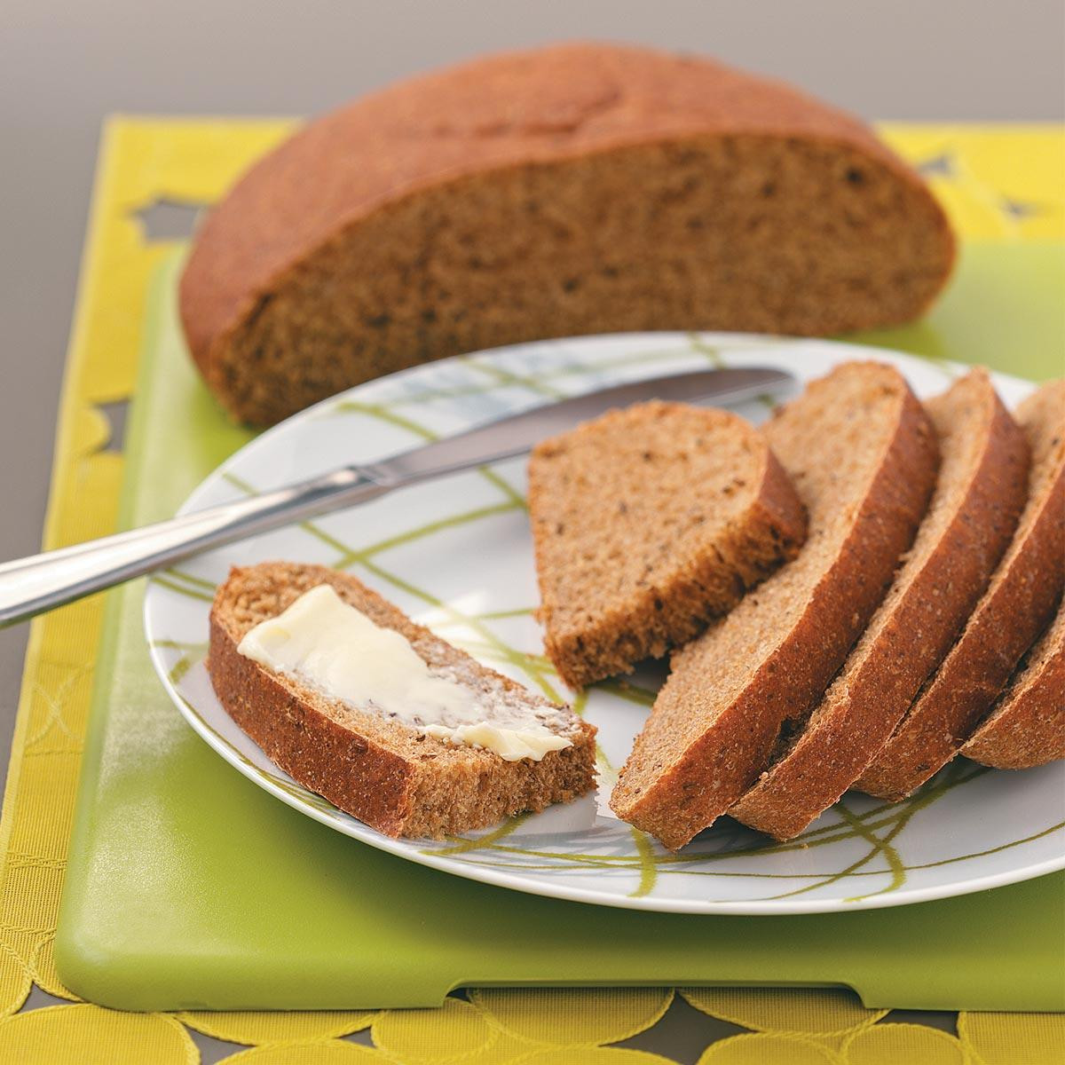 Rye Bread Recipe  Rustic Rye Bread Recipe